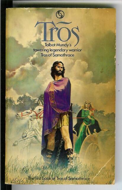TROS by Talbot Mundy, rare British Tandem heroic fantasy pulp vintage pb Tros #1