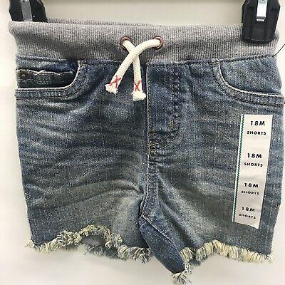 Cat /& Jack Girl/'s Shorts Drawstring BluePockets Sizes 18M to 4T