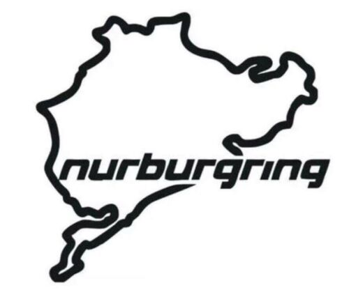Nurburgring Car Van Window Bumper Laptop Sticker Vinyl Decal