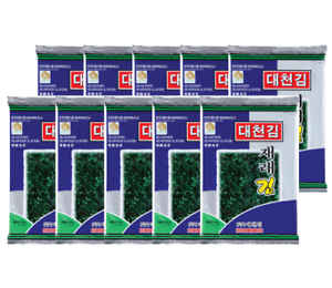 Korean-Traditional-Food-Daecheon-season-laver-to-roast-10packs