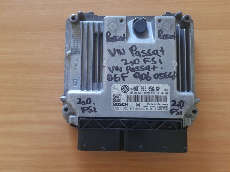 VW Passat 2.0 FSI 2007 Bosch ECU with part#06F 906 056 GP