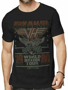 Van-Halen-Invasion-World-Tour-1980-T-Shirt-Official-Party-Til-You-Die-S-M-L-XL
