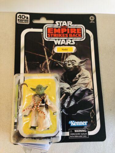 The Empire Strikes Back Star Wars Black Series 40th Anniversary Wave 1 Yoda