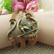 Friendship Bracelet Mockingjay  Fashion Leather Bracelet [12]