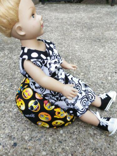 Medium Doll bean bag beanbag chair fits most baby dolls EMOJI