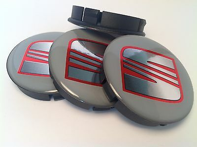 SUZUKI 4 x Plastic Wheel Centre Cap Hubs with Silicone Logo 60mm//55mm NEW