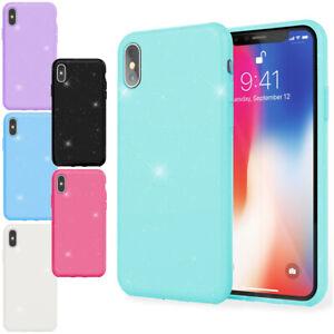 NALIA-Glitzer-Handy-Huelle-fuer-iPhone-X-XS-Bling-Schutz-Tasche-Glitter-Cover