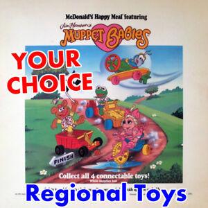 MIP-McDonald-039-s-1991-1992-MUPPET-BABIES-Jim-Henson-Baby-REGIONAL-Cartoon-PICK-TOY