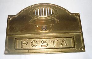 TRIMEC-PIASTRA-PER-CASSETTA-POSTALE-ESTERNA-CON-CAMPANELLO