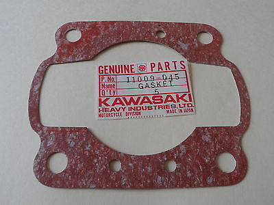NOS OEM Kawasaki Cylinder Base Gasket 1977-1979 KE250B 11009-045