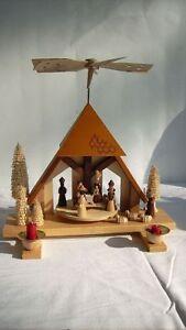 weihnachtspyramide erzgebirge pyramide weihnachten ebay. Black Bedroom Furniture Sets. Home Design Ideas