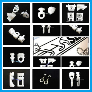 Silent Gliss Curtain Track Spares Gliders Brackets Hooks