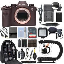 Sony Alpha a9 II Mirrorless 24.2MP 4K Digital Camera Body + 64GB Pro Video Kit