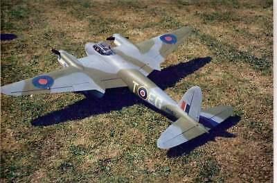 Modellbauplan RC Spannweite 2057 mm XVI DE HAVILLAND D.H 98 MOSQUITO PR Mk