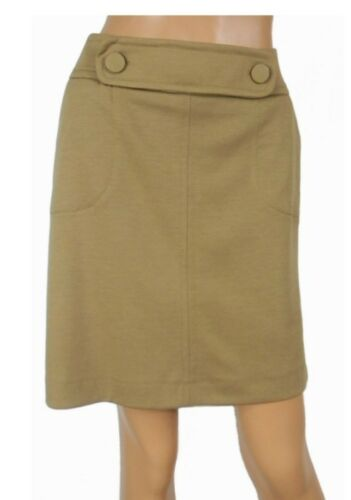 Winter Warm BNWOT EX WALLIS Camel Coloured Smart Skirt Size 10 OR 16