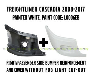 Freightliner Cascadia Bumper Reinforcement Passenger Right Side WITH Fog Light Cut-out 2127301003