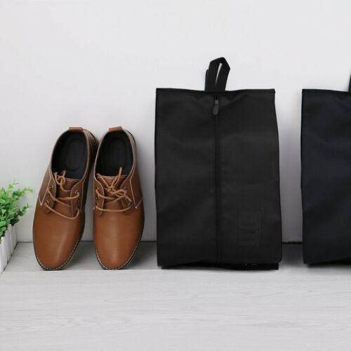 10x Travel Shoe Bags Portable Nylon Storage Shoe Bag For Men /& Women Black