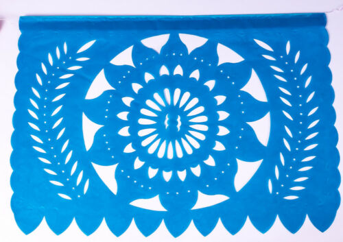 MEXICAN PAPEL PICADO BANNERMEXICAN FIESTA DECORATIONS5metre//16ft banner
