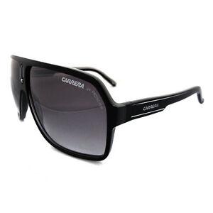 2351aa7f2d4ec Carrera Sunglasses 27 Black Grey MS Silver XAX IC 62 10 130 for sale ...