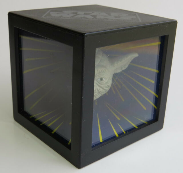LOOSE Taco Bell 1996 Star Wars Trilogy DARTH VADER YODA MAGIC MIRROR CUBE Toy