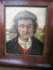 Friedersdorff,Robert 1885-1970 Düsseldorf#Halbportrait#Oel/Malpl.31x25 cm