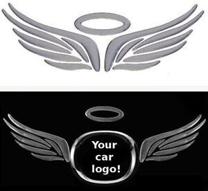 3D-Fluegel-Engelsfluegel-Angel-Auto-Aufkleber-Sticker-Emblem-chrom-Diesel-Benziner