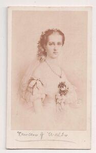 Vintage-CDV-Alexandra-of-Denmark-Princess-of-Wales-Queen-of-England
