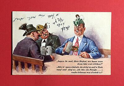 Sonstige 48645 Geeignet FüR MäNner Und Frauen Aller Altersgruppen In Allen Jahreszeiten Gehorsam Reklame Ak MÜnchen 1931 Hofbräuhaus Typen Mit Bier Bierkrug Ansichtskarten