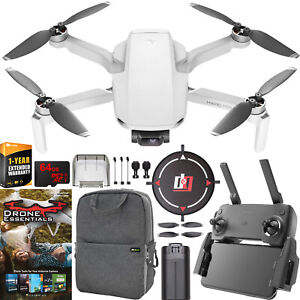 DJI-Mavic-Mini-Drone-Quadcopter-CP-MA-00000120-01-with-Remote-Essentials-Bundle