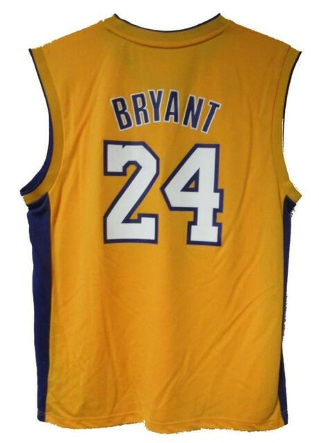 Adidas Los Angeles Lakers Mens Size Large Kobe Bryant  24 Jersey A1 1784 649eb54a3