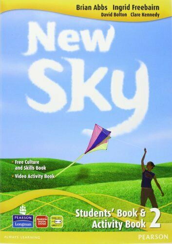 new sky 2 +activity+reader+cd+cdrom abbs/freebairn 9788883390159