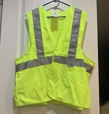 3m Safety Vest Featuring Scotchlite Reflective Material One Size 94616