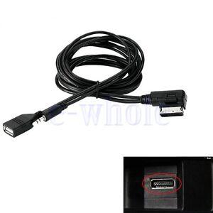 mdi ami mmi media interface usb kabel adapter für audi a4 a5 a6 q5