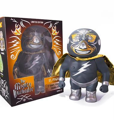 MIGHTY LUCHADOR VINYL FIGURE BY SO ELECTRIC X RUBY RAYGUN LIMITED EL MIGHTY
