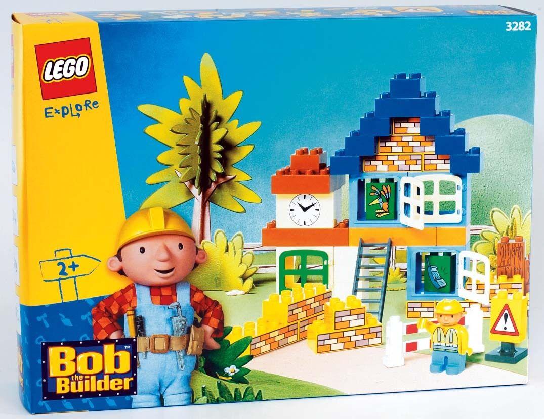 Nuevo Lego Duplo Bob The Builder 3282 Clock Sellado Bob Tower