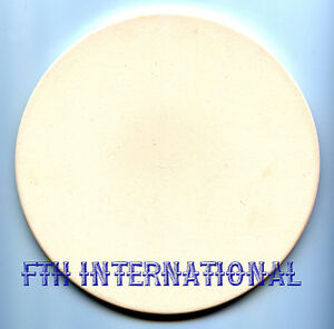 Image Is Loading 7 034 Round Ceramic Bisque Trivet Tile Candle