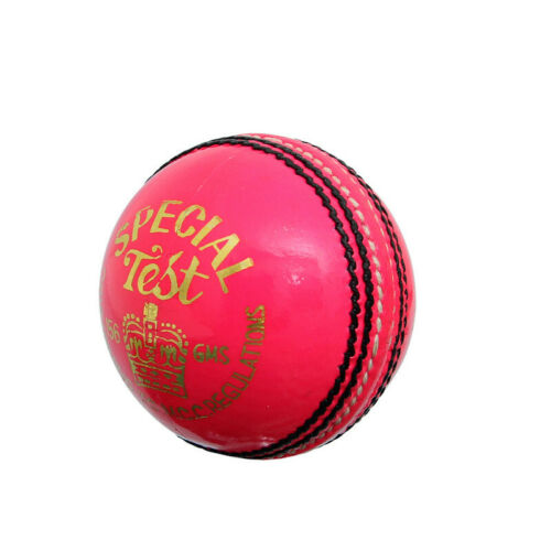 Details about  /Special Test Leather 4 Piece Premium Quality Cricket Balls Pink Leather 6 Balls