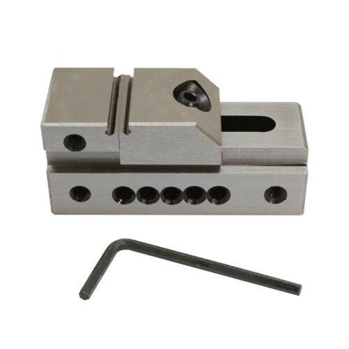 1 Inch Precision Vise Grinding Screwless Mini Insert Toolmaker Vise .0002 Inch