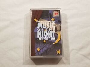 John WIlliams Music of the Night Pops On Broadway Cassette 1990, Sony