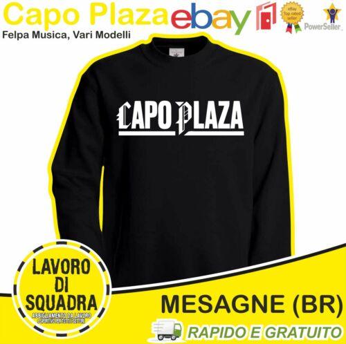 CAPO PLAZA Felpa Rap Trap Musica Music Italian Giovane Fuoriclasse Album