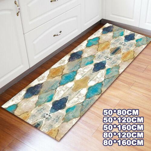 Non-slip Kitchen Floor Mats Rug Door Large Runner Hallway Soft Room Carpet UK