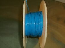 22 AWG Silver Coated Copper PTFE Hook Up Wire 19/34 MIL-W-16878/4 Blue 25' ft