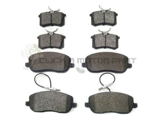 FRONT 285MM DISC CITROEN C8 2.0 2.2 HDi 2002-2011 FRONT AND REAR BRAKE PADS SET