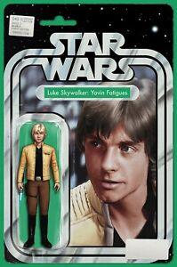 Star Wars # 40 NM Luke Skywalker Yavin Fatigues JTC Action Figure Variant HTF