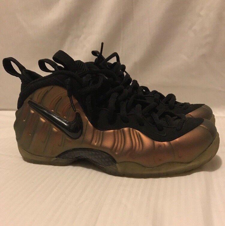 d27f7ba8edd7 Nike Air Foamposite Pro Pro Pro PRM Gym Green Copper Metallic Size 10 67f304