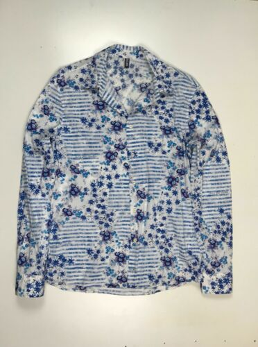 Jean Paul Gaultier shirt flower printed men's size