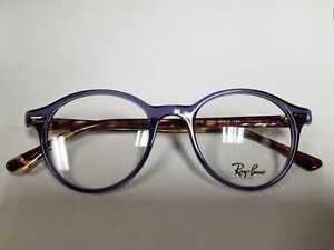 e313f5ce4f3 New Ray-Ban RB7118 8020 RX7118 Purple/Tortoise Round Eyeglasses ...