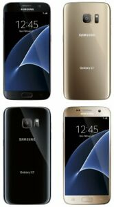 Samsung-Galaxy-S7-32GB-SM-G930P-Virgin-Mobile-Black-Gold-Smartphone-NEW