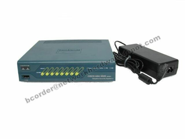 CISCO ASA5505-BUN-K9 SECURITY FIREWALL UPGRADED asa9.24 asdm7.82 512Mb ASA5505