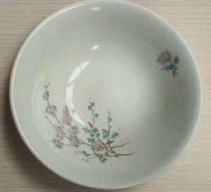Vintage-Johnson-Bros-Pink-Snowhite-Blossom-Bowl-1945-68-Made-in-England-15-5cm